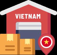 Hàng về Việt Nam & được giao đến Quý Khách
