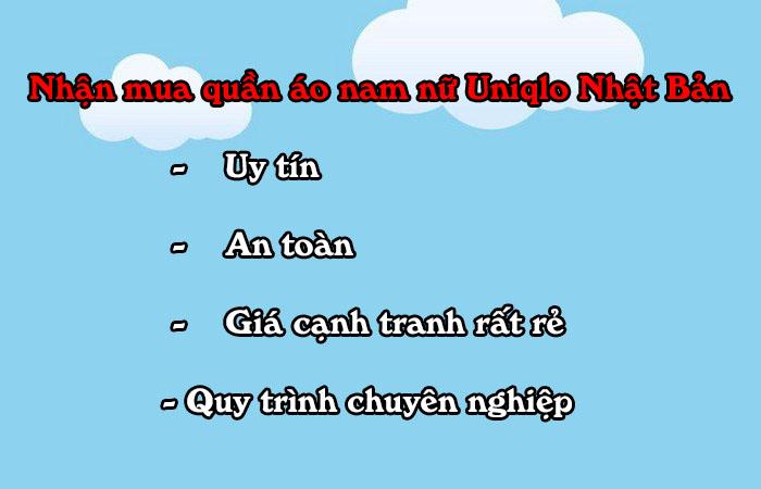 mua quan ao gia re tai Uniqlo