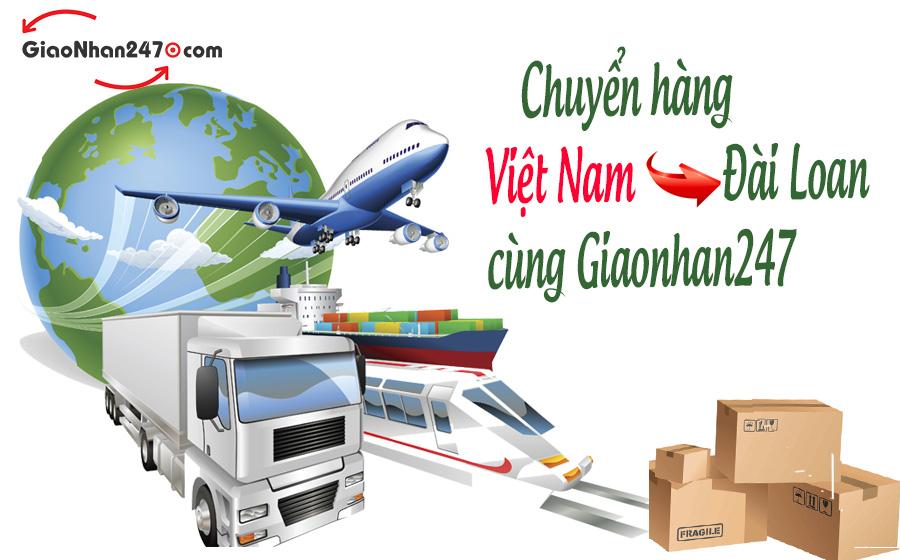 cung giaonhan247 chuyen hang viet nam di dai loan