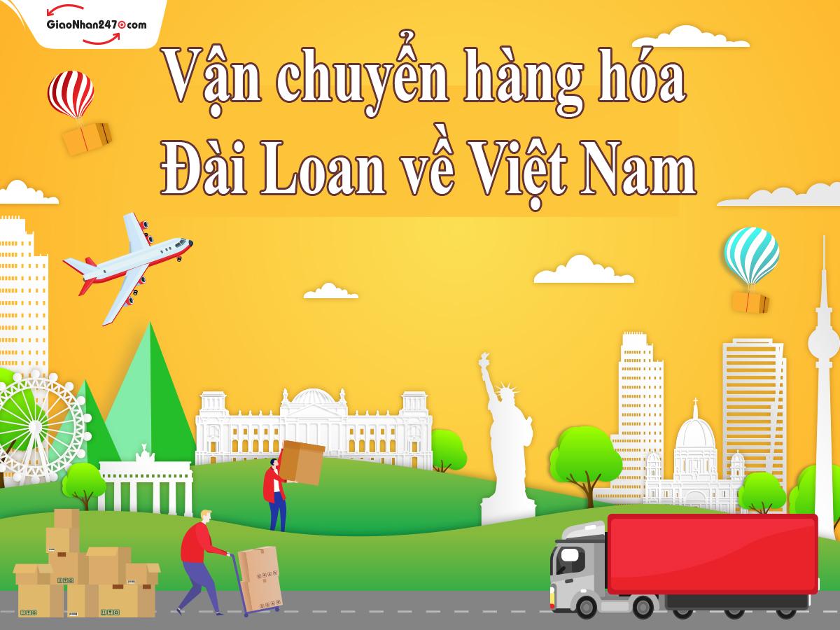 chuyen hang dai loan ve viet nam