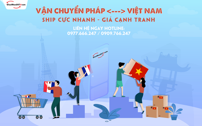 Giaonhan247 nhan dat mua van chuyen hang phap viet nam