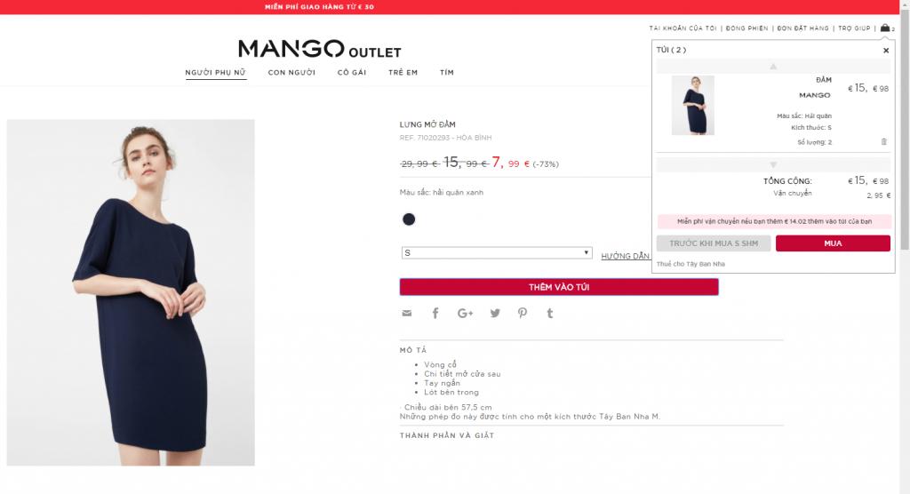 trang web mango
