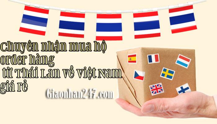order hang thai lan