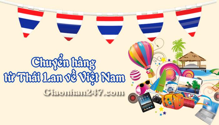 chuyen hang tu thai lan