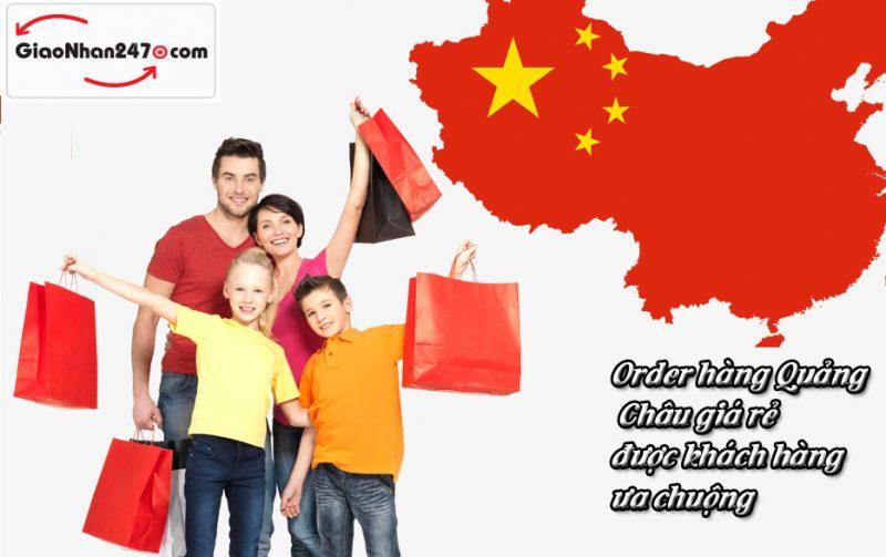 Order hang Quang Chau tai tphcm duoc ua chuong
