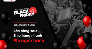 giaonhan247 dong hanh cung Black Friday