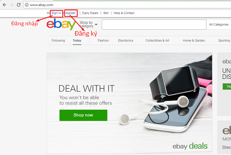 dang ky tai khaon ebay