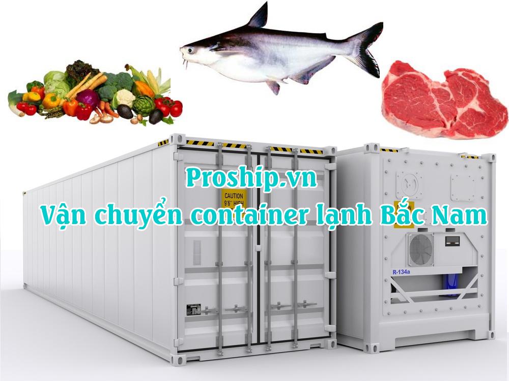 Van chuyen container lanh