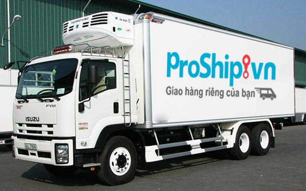 Proship nhan van chuyen container lanh sang trung quoc