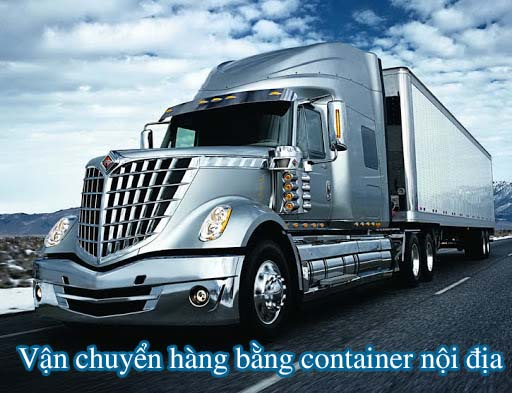 van chuyen hang bang container