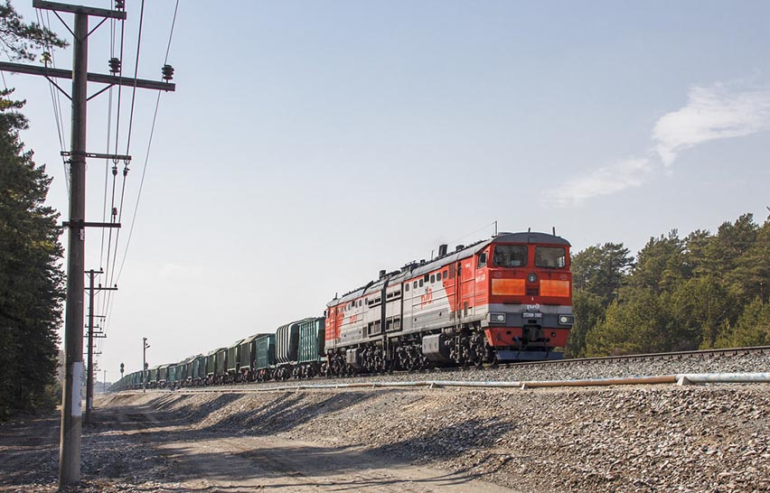 Giá cước phí vận chuyển hàng hóa bằng đường sắt 2