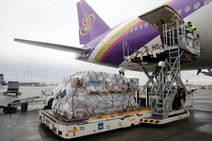 Vận chuyển khẩu trang, đồ bảo hộ, thiết bị vật tư y tế xuất khẩu đi nước ngoài
