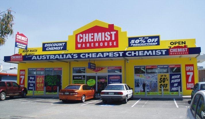 Chemist Warehouse la chuoi cua hang ban le tai uc