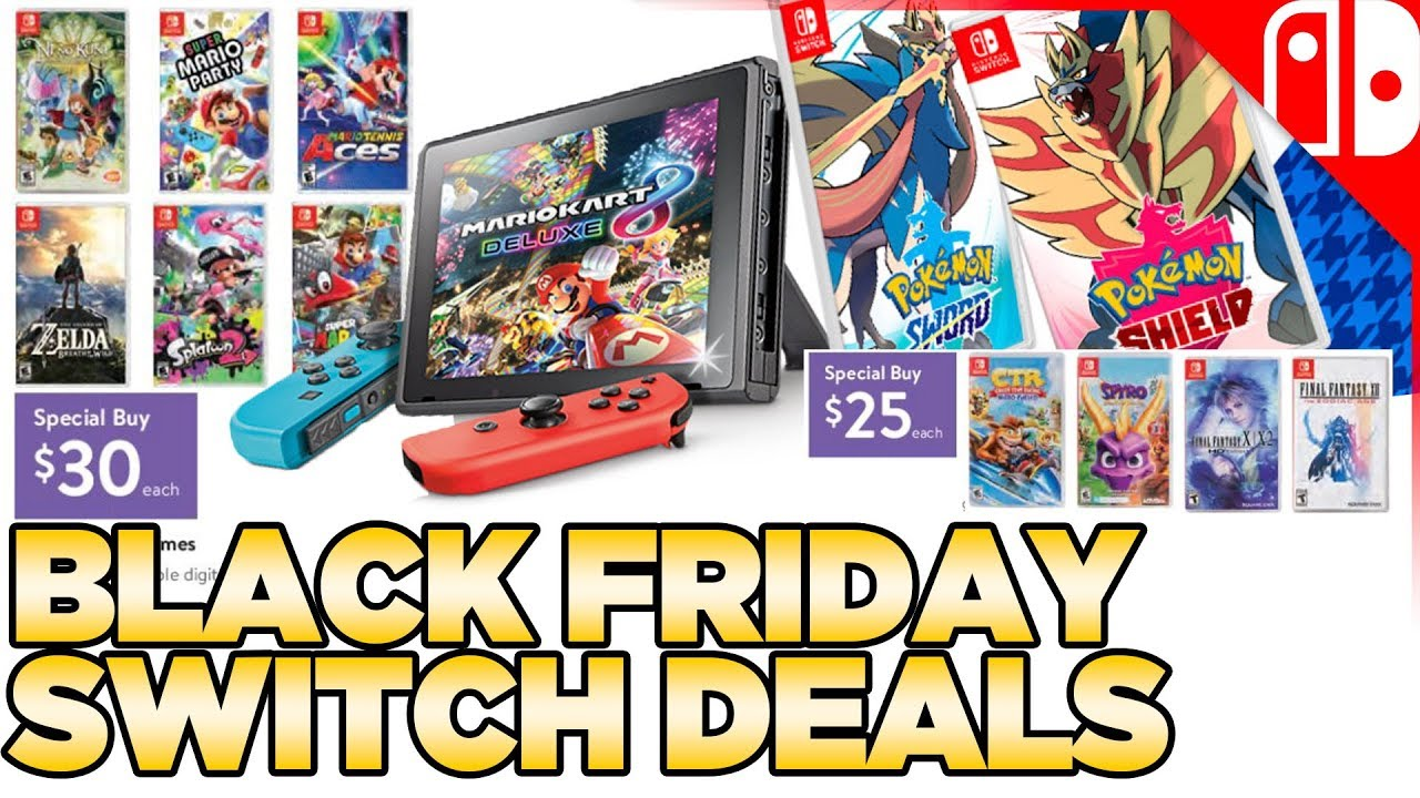Nintendo Switch dua ra da dang deal game