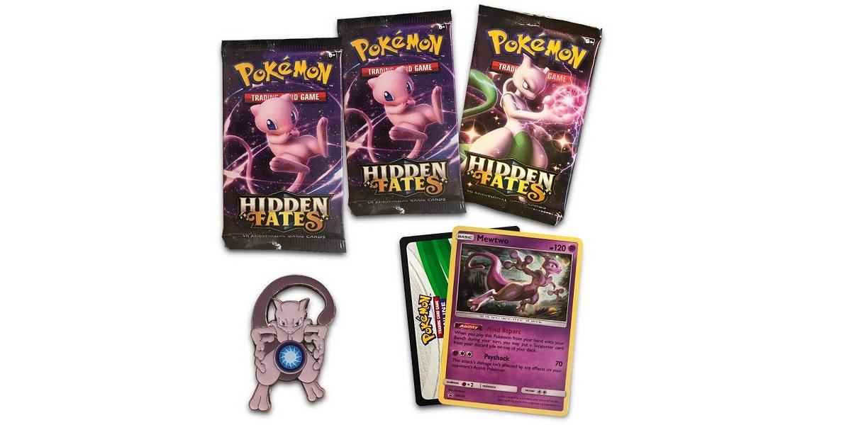 Pokemon TCG Hidden Fates Pin Collection Mewtwo