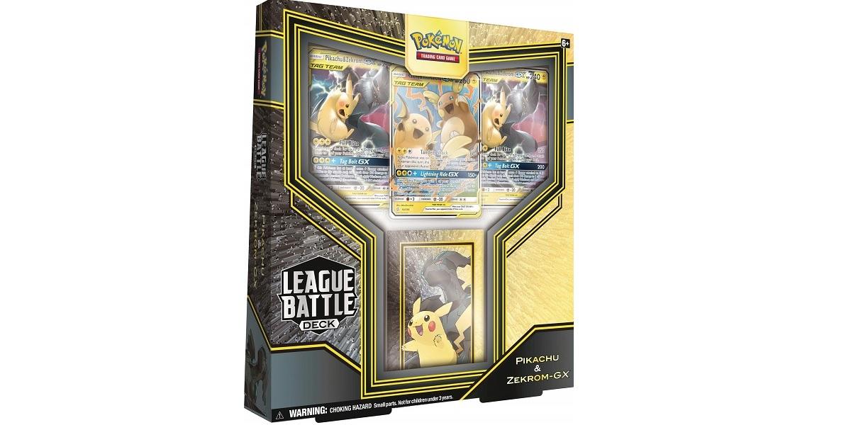 Pokemon TCG Pikachu Zekrom GxLeague Battle Deck