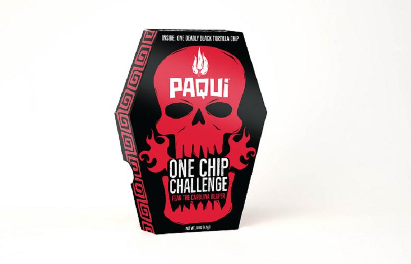bao bi dac biet cua Paqui One Chip