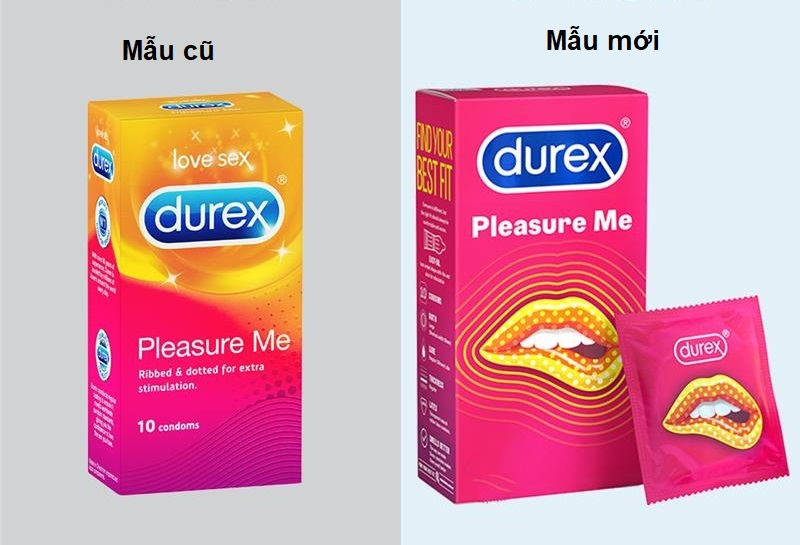 bao cao su Durex Pleasure Me