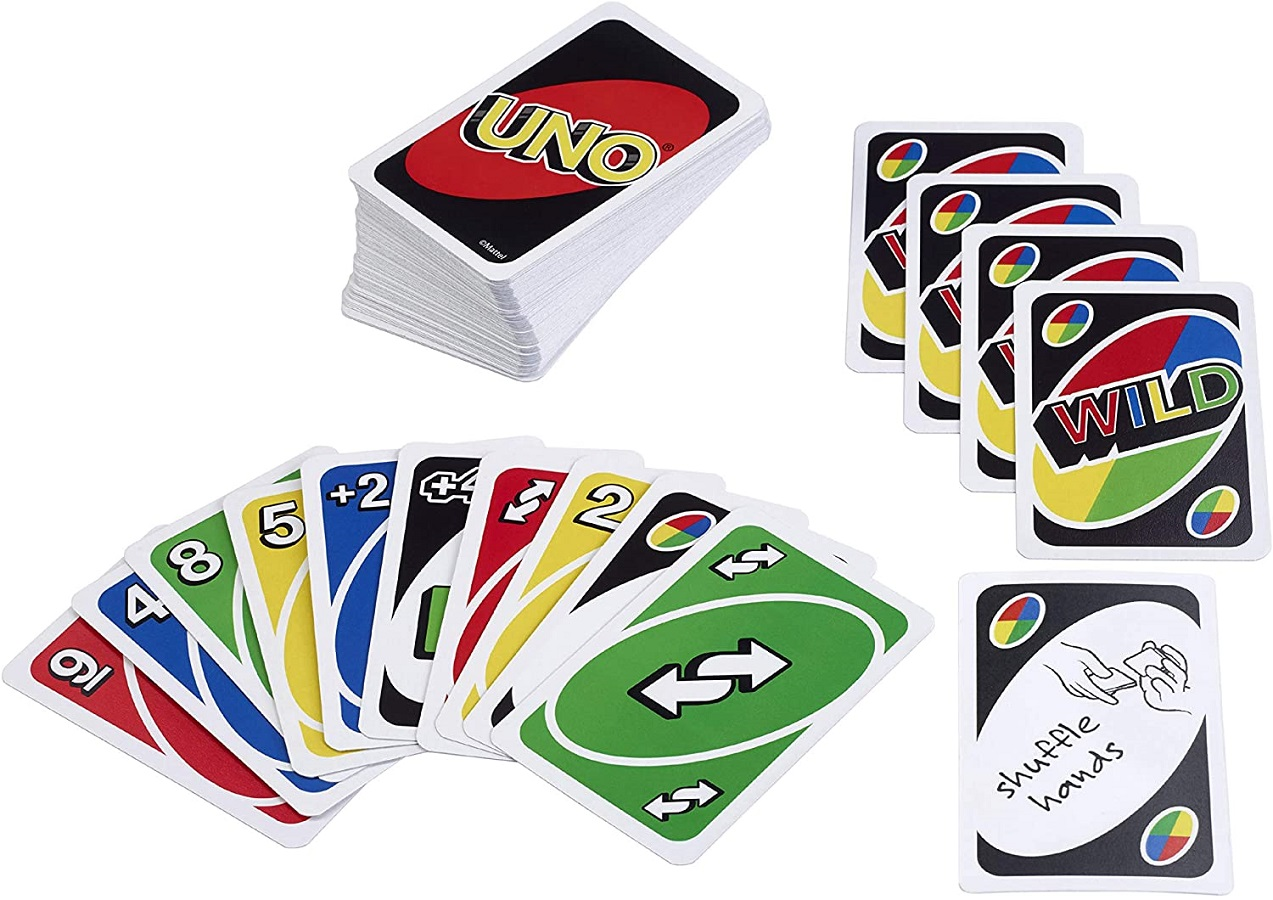 Board game UNO