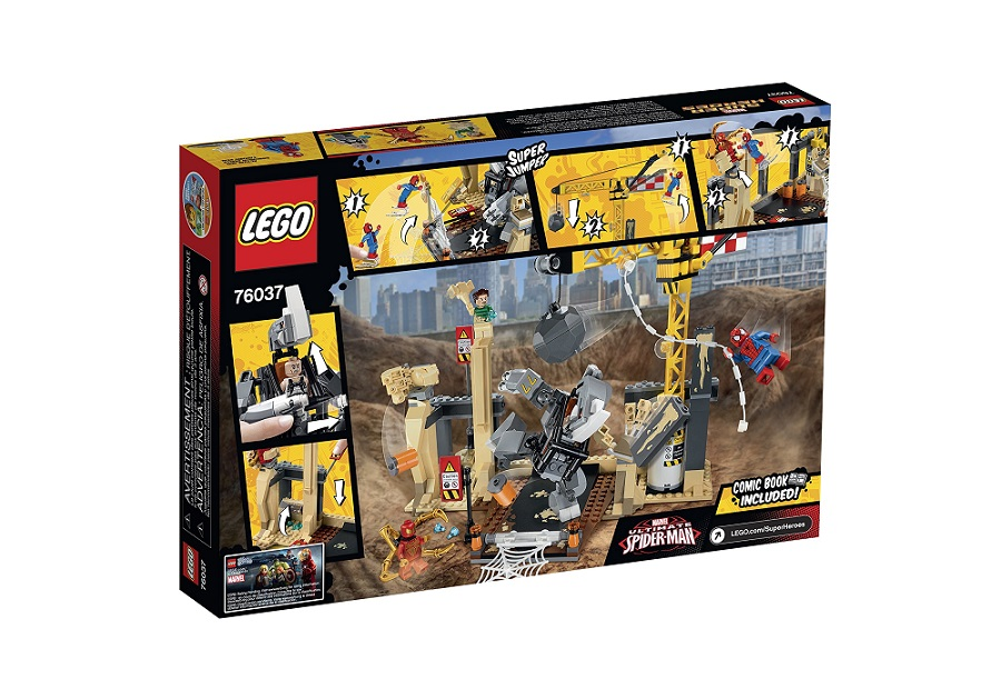 LEGO Super Heroes 76037 Rhino and Sandman