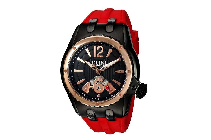Elini Barokas Men's Genesis Vision Stainless Steel Swiss-Quartz Watch