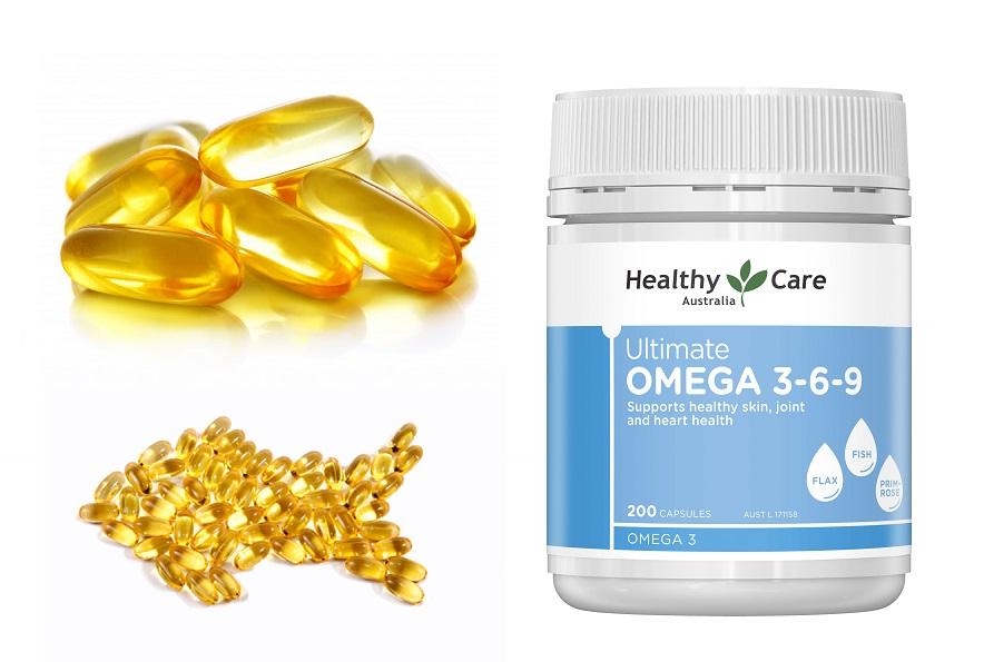 Healthy care fish oil