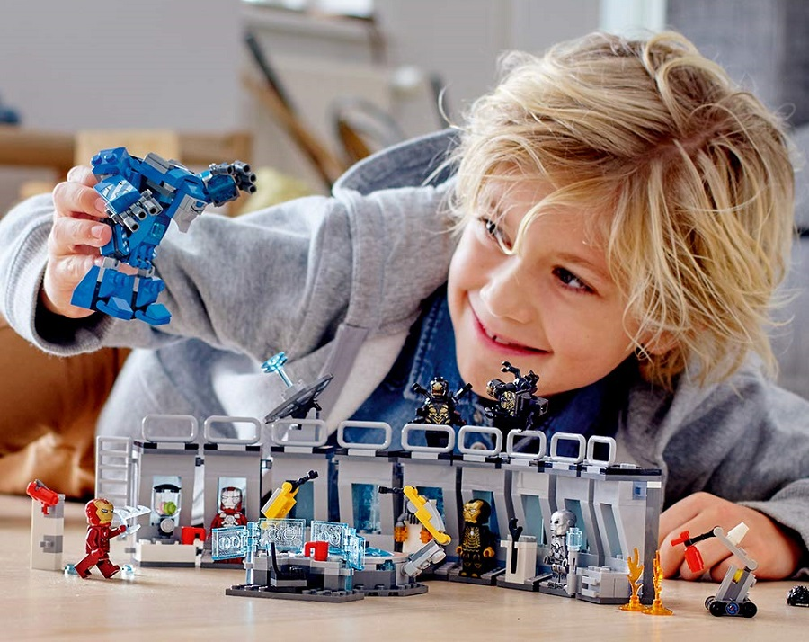 Lego marvel cho be