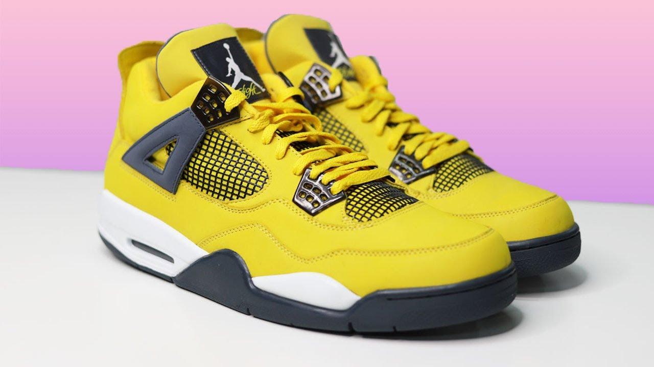 Nike Jordan 4 Lightning & Thunder