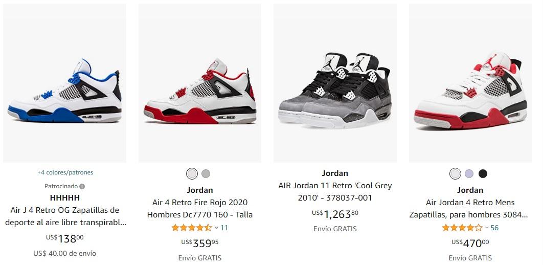 Các mẫu giày air jordan 4 hot nhất