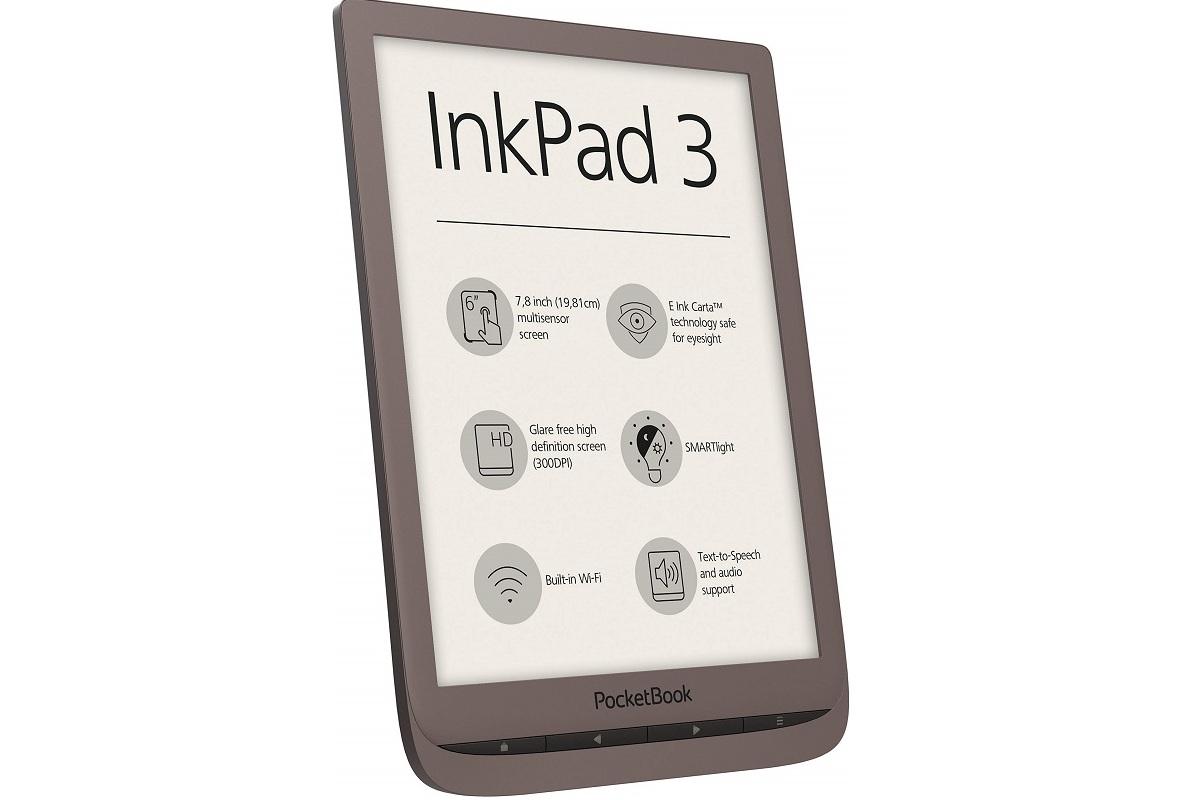 may doc sach Pocketbook InkPad