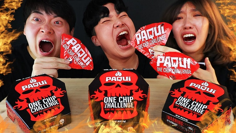 trao luu Paqui One Chip Challenge