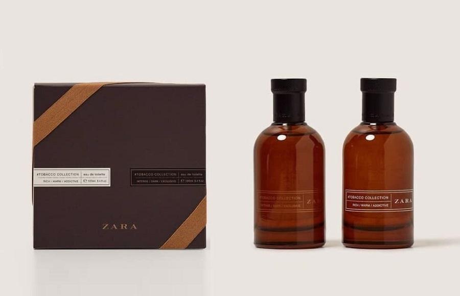 nuoc hoa Zara Men's Tobacco Collection