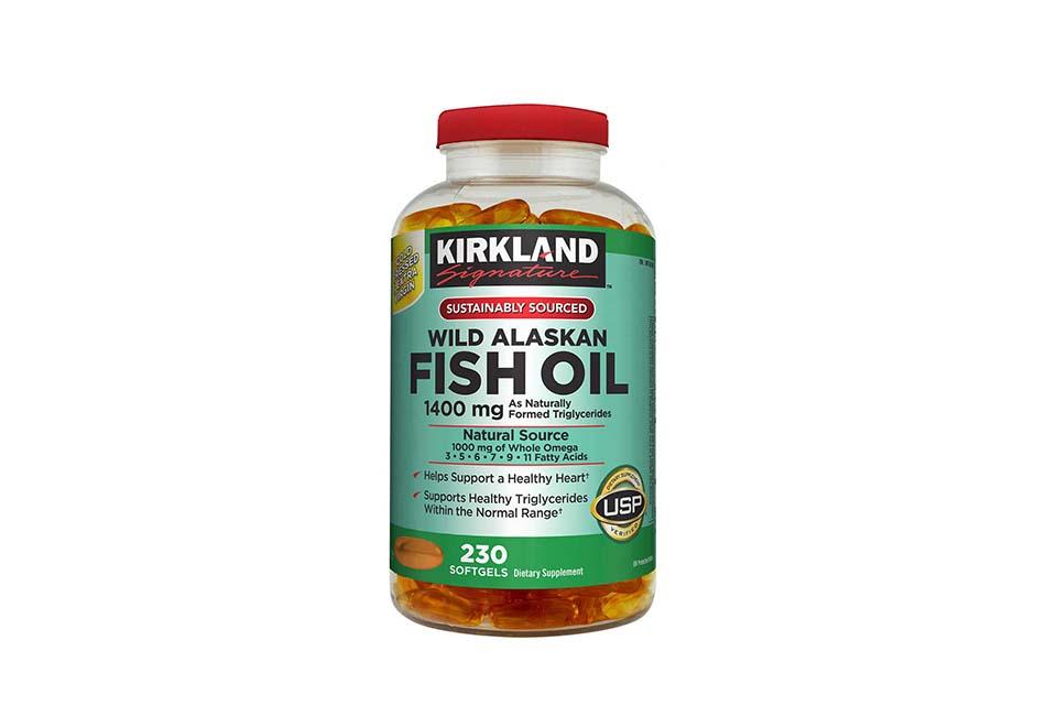Kirkland Signature Expect More Wild Alaskan Fish Oil 1400