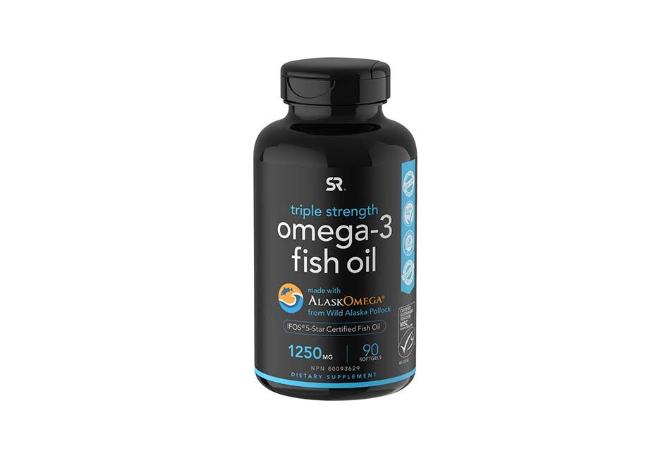 dau ca Omega-3 Wild Alaska Fish Oil (1250mg per Capsule) with Triglyceride EPA & DHA