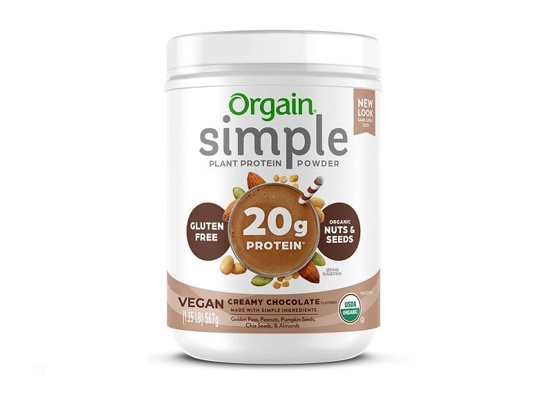 Orgain Simple Organic Plant Protein Powder