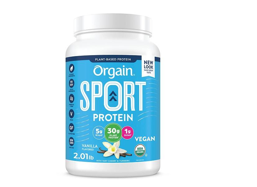 Orgain Vanilla Sport Plant