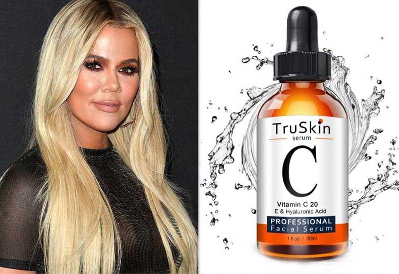 Vitamin-C-Truskin-la-bi-kip-dep-cua-Khloe-Kardashian