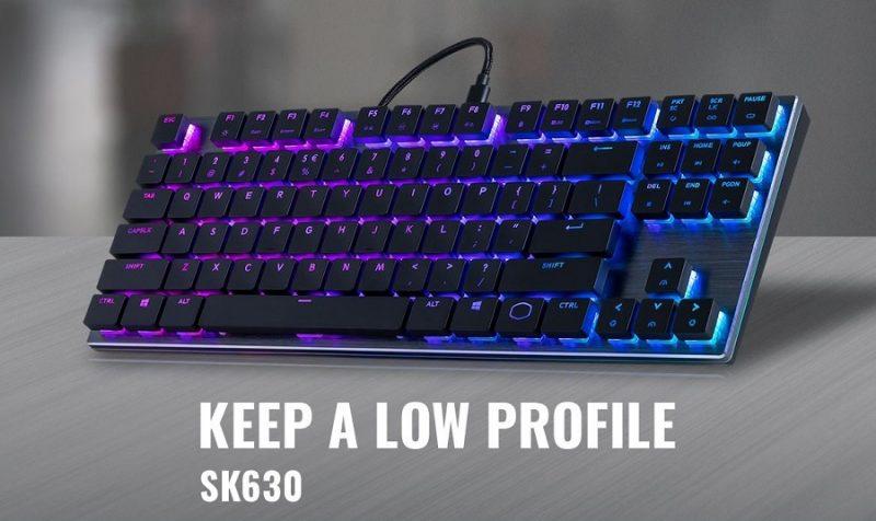 bàn phím cơ Low – Profile