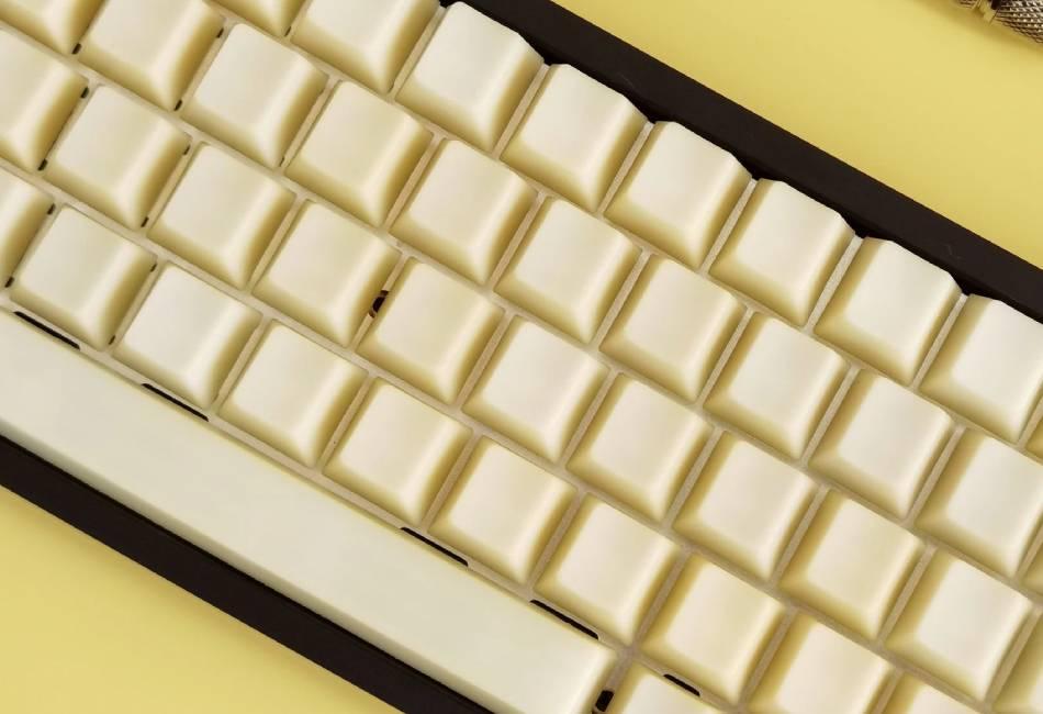 chat lieu POM Jelly Keycaps