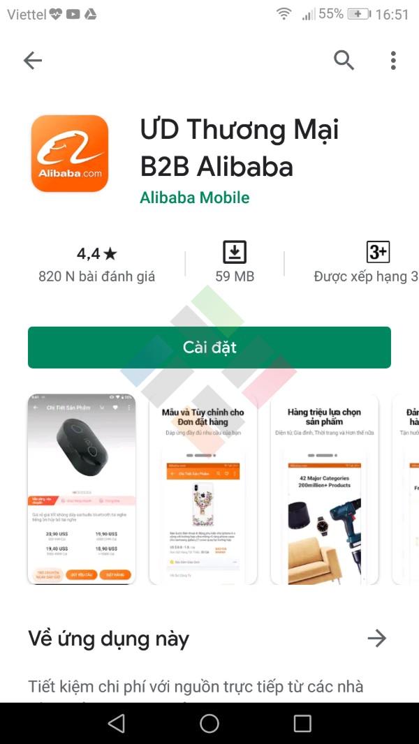 app mua hang Quảng Châu