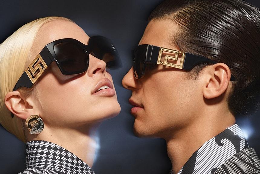 mat kinh chinh hang Versace