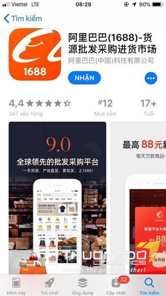 app mua hang trung