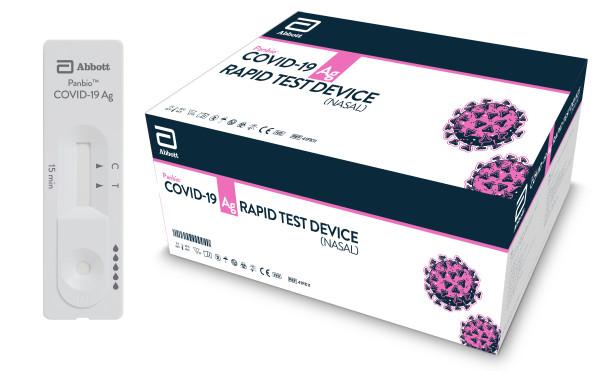Kit test Panbio Covid-19 Ag Rapid Test Device