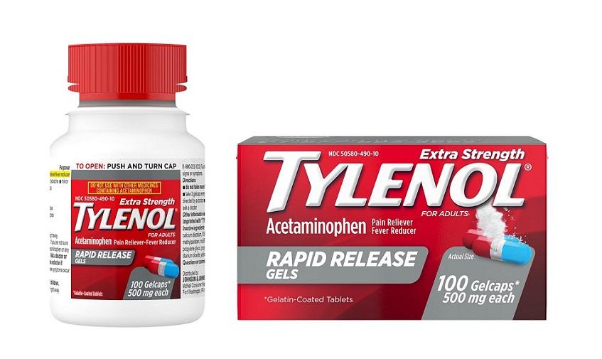 Tylenol 100 vien