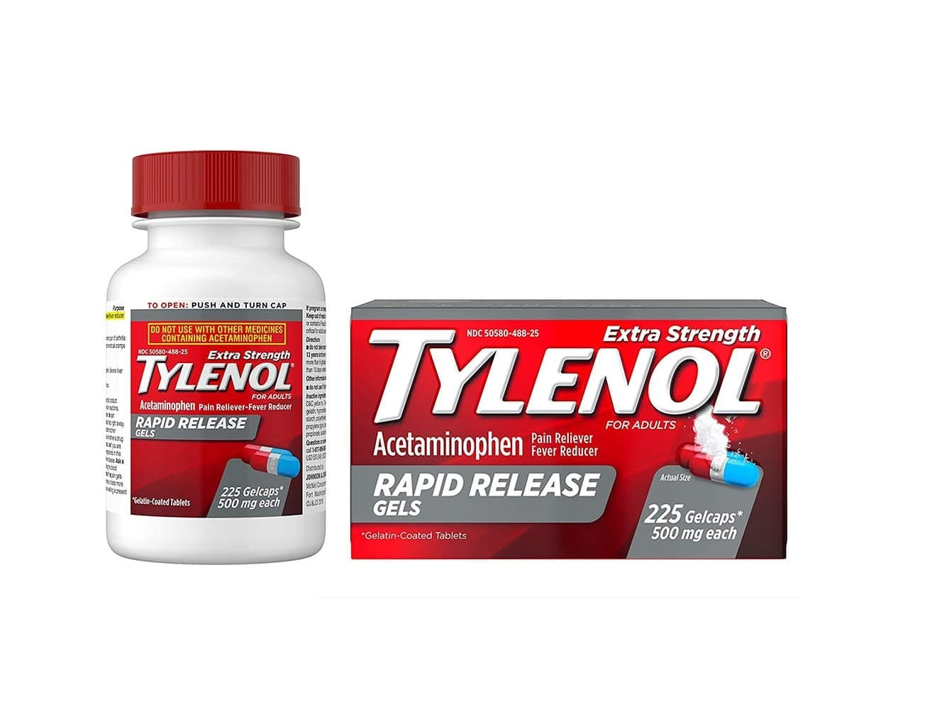 thuốc hạ sốt Tylenol 225