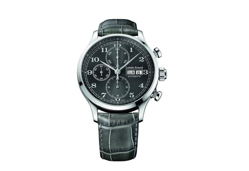 Louis Erard Men's 1931 Collection Grey Dial Chronograph