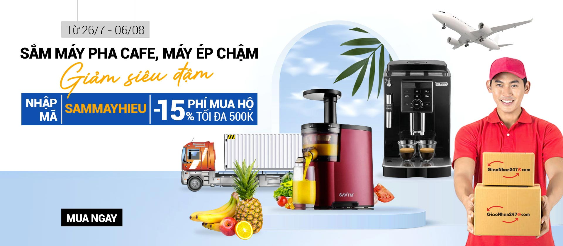 nhan-mua-ho-may-ep-cham-pha-cafe