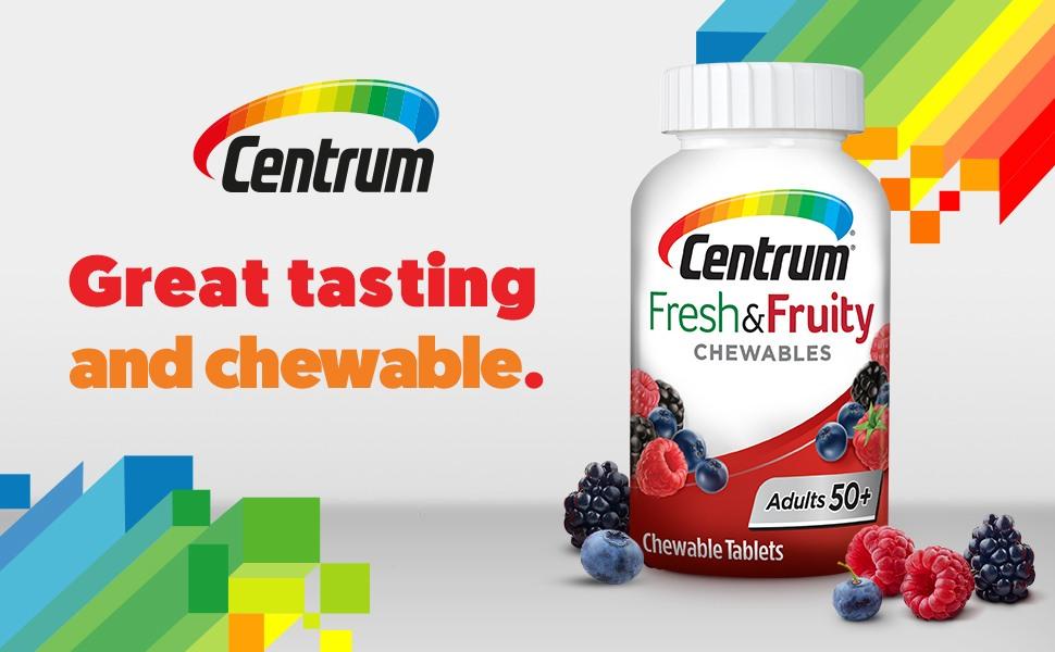 vitamin centrum fresh fruity