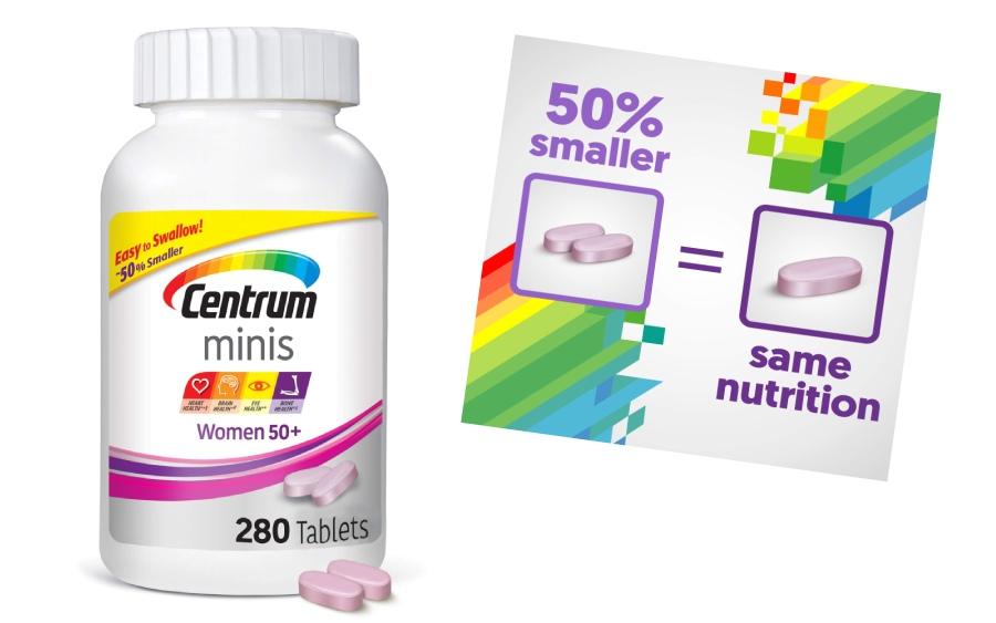 vitamin centrum mini